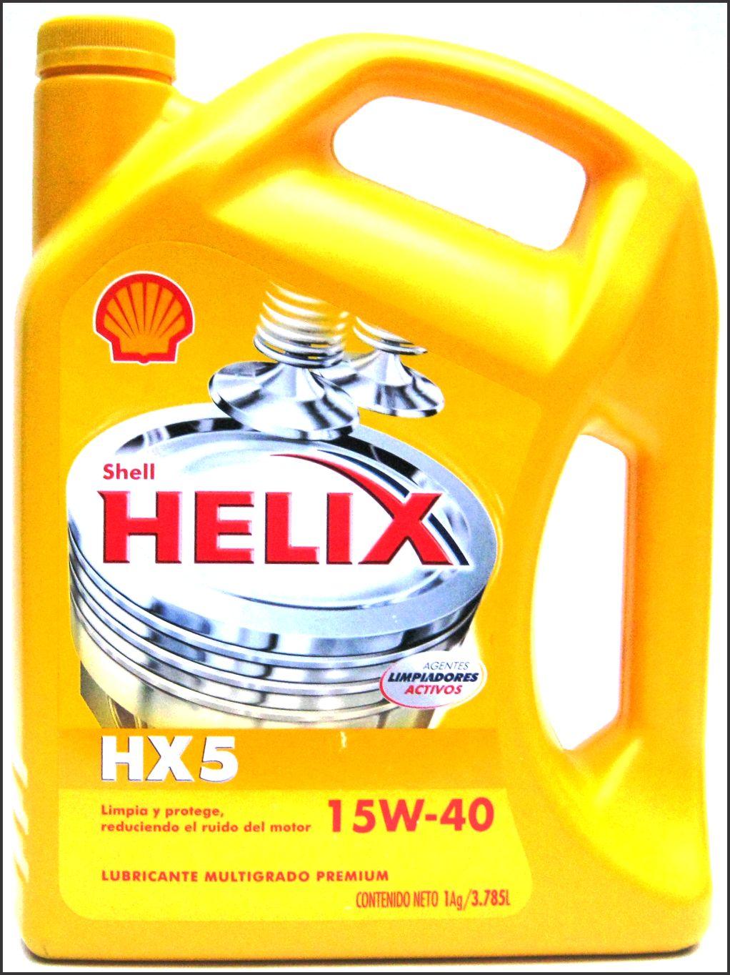 Shell Helix 15W 40